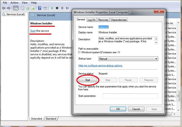 Error code 3068-4, 3018-4, 30045-26, 0-1028(0) or 30068-4 when installing Office.